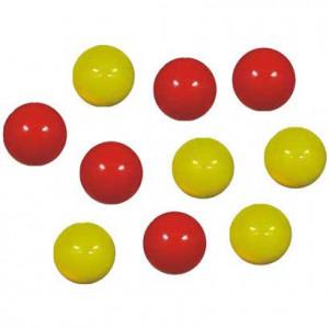 Conjunto Com 10 Bolas Para Sinuca / Bilhar / Snooker - 54mm - Mata-Mata - BF Cód. 10.017