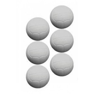 Blister com 6 Bolinhas de Pebolim / Totó / Fla Flu - EE2504