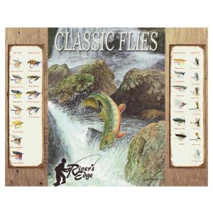 Placa Decorativa Retrô Classic Flies - Rossi - Cód. 3033