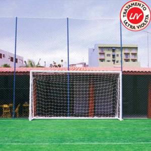 Rede de Futebol Suíço / Society - Fio 4mm Mix - Cód. F5-4X