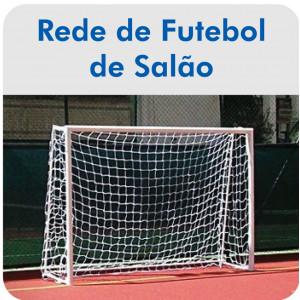 Rede de Futebol de Salão / Futsal - Fio 4mm Mix - Master Rede - Cód. FS-4X