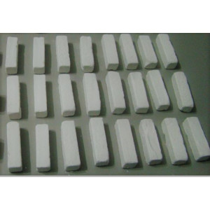 Giz Branco Quadrado Bar Para Taco De Sinuca Bilhar