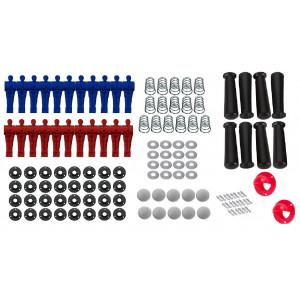 Kit Reparo para Pebolim Passante - 128 peças - Cód. KR128P