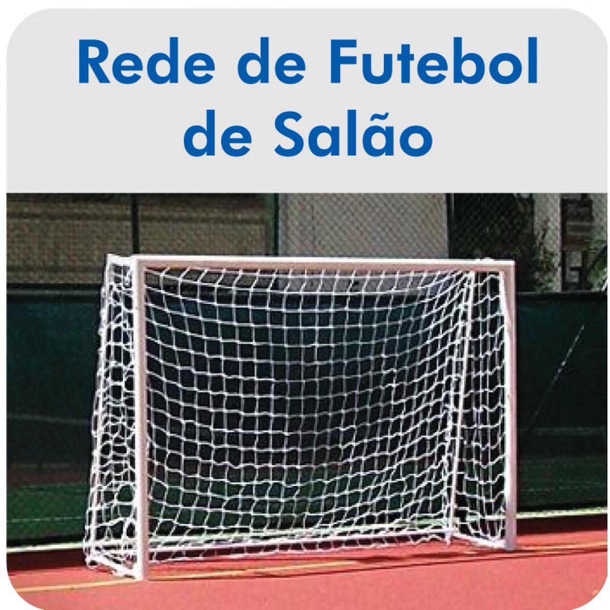Rede de Futebol de Salão   Futsal - Fio 3mm Mix - Master Rede - Cód ... ab6fd065f70b4