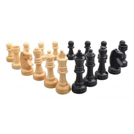 Peças para Jogo de Xadrez em Madeira Oficial - Cód. 119