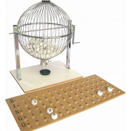 Globo para Sorteio Manual com Bolas de Ping Pong - Cód. EE1409