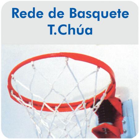 Rede de Basquete Tipo Chuá - Fio 4mm Seda - Master Rede - Cód. B-CH