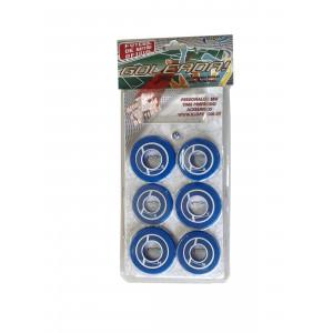 Jogo de Futebol de Botão - Blister - Cores - Cód. 4091 - Azul e branco