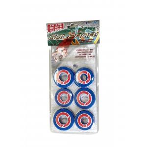 Jogo de Futebol de Botão - Blister - Cores - Cód. 4096 - Azul e vermelho