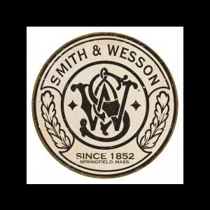 Placa Metálica Decorativa Smith&Wesson Logo - Rossi - Cód. 30281608