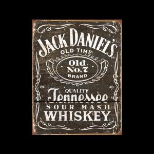 Placa Metálica Decorativa Jack Danniels - Rossi - Cód. 30111544
