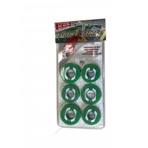 Jogo de Futebol de Botão - Blister - Cores - Cód. 4094 - Verde e branco