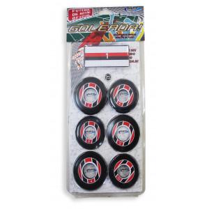 Jogo de Futebol de Botão - Blister - Cores - Cód. 4095 - Preto e vermelho