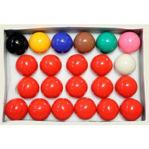 Jogo de Bolas de Sinuca / Bilhar / Snooker - Regra Inglesa - 22 Ball - BF Cód. 10.016