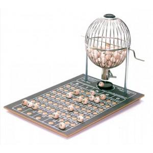 Globo para Bingo Pequeno - 75 Bolinhas - Treis Reis - Cód. 779P