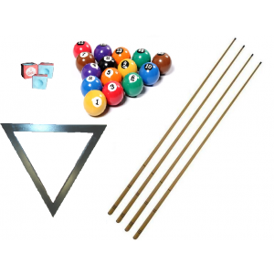 Kit para Sinuca / Bilhar / Snooker - Paraná - Cód. EE0908