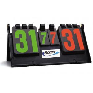 Marcador para Tênis de Mesa - Klopf - Cód. 5086