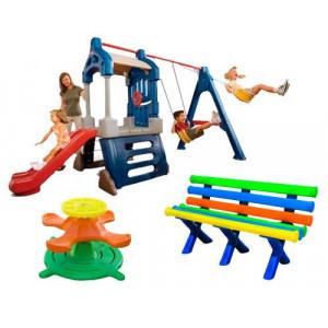 Kit Happy Kids - Playground - Plástico - Cód. 1524