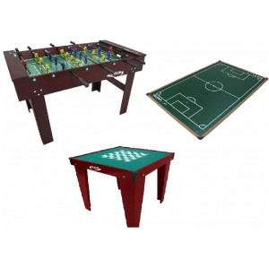Salão De Jogos Especial Pebolim + Botão + Xadrez Cód. 1557