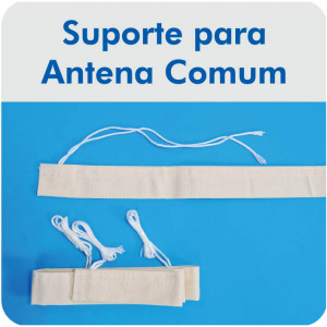 Suporte para Antena de Vôlei - Master Rede - Cód. S-AT